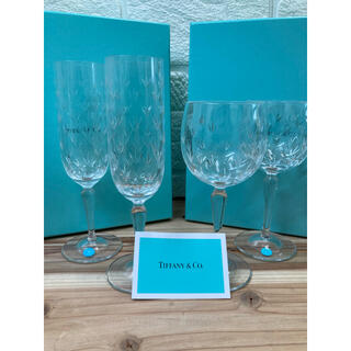 ティファニー(Tiffany & Co.)のティファニー TIFFANY&Co. ペアグラス ワイングラス(グラス/カップ)