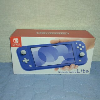 Nintendo Switch - 値下げ★新品同様(動作確認済み)★ニンテンドースイッチライト本体ブルー★匿名発送