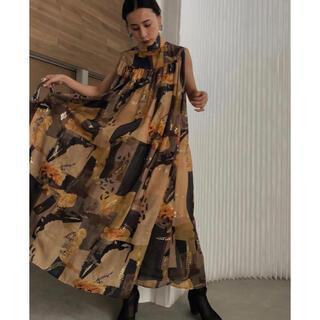 Ameri VINTAGE - ameri vintage EMILIE GATHER DRESS 新品