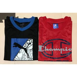 Champion - Champion & PUMA 140cm SPORTS Tシャツ 2枚
