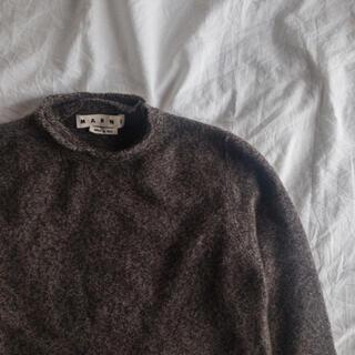 Marni - MARNI Wool Cashmere Fulling Cloth Knit