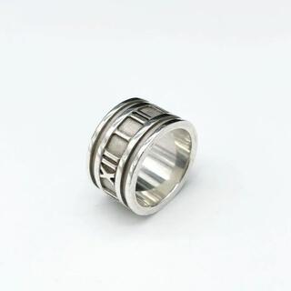 Tiffany & Co. - 【美品】ティファニー リング 指輪 アトラス ワイド シルバー 約11号 2Q1