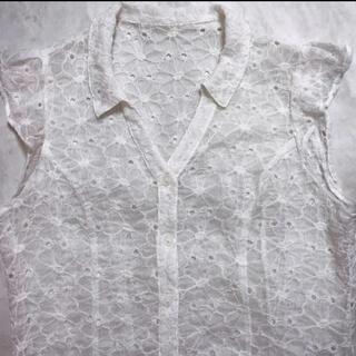 リリーブラウン(Lily Brown)のリリーブラウン トップス ブラウス(シャツ/ブラウス(半袖/袖なし))