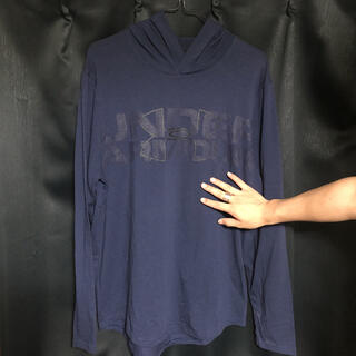 アンダーアーマー(UNDER ARMOUR)のアンダーアーマー ロンT 長袖 フード(Tシャツ/カットソー(七分/長袖))