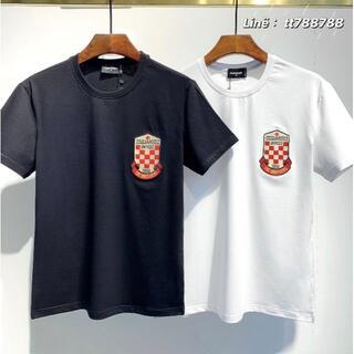 ディースクエアード(DSQUARED2)のDSQUARED2(#146)2枚9000 Tシャツ 半袖 M-3XLサイズ選択(その他)