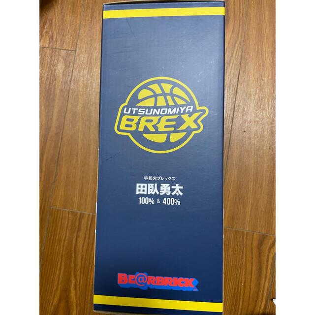 MEDICOM TOY(メディコムトイ)のMEDICOM TOY BE@RBRICK #0 田臥勇太 宇都宮ブレックス エンタメ/ホビーのおもちゃ/ぬいぐるみ(キャラクターグッズ)の商品写真