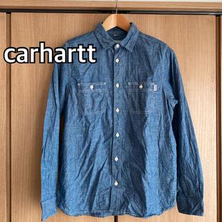 carhartt - carhartt カーハート シャンブレーシャツ デニム ワークシャツ