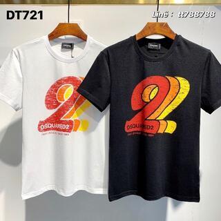 ディースクエアード(DSQUARED2)のDSQUARED2(#148)2枚9000 Tシャツ 半袖 M-3XLサイズ選択(その他)