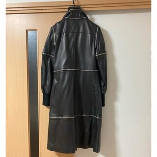 ジョンローレンスサリバン(JOHN LAWRENCE SULLIVAN)のDolce&Gabbana レザーコート ジョンローレンスサリバン zip(レザージャケット)