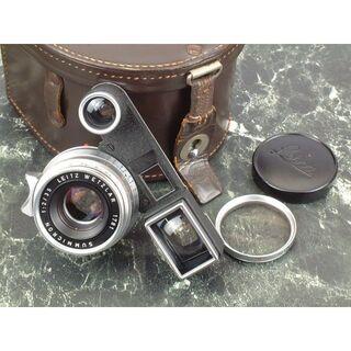 LEICA - Leica Summicron 35mm f2 8枚玉 メガネ付 美品