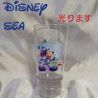 ディズニーシー 15周年 ミッキー 光るグラス スーベニアタンブラ 未使用 新品