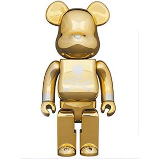 BE@RBRICK mastermind JAPAN GOLD 100%400%(その他)