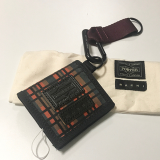 Marni - 新品未使用 マルニ ポーター コインケース カラビナ 小銭入れ ミニ財布