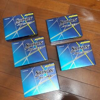 Srixon - 本日限定価格!! スリクソンゴルフボール 4ダース イエロー 新品未使用