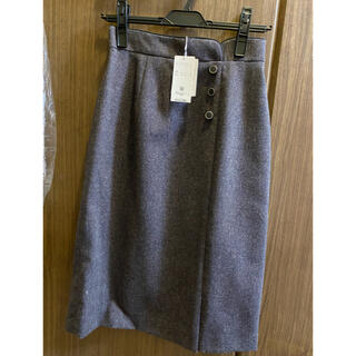 PROPORTION BODY DRESSING - ラメツイードタイトスカート
