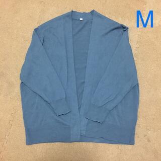 ムジルシリョウヒン(MUJI (無印良品))の無印良品 七分袖 カーディガン グレー(カーディガン)