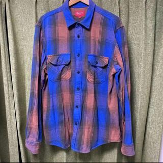 Supreme - 【L】supreme Shirt ネルシャツ