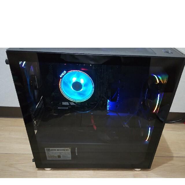 ゲーミングPC Ryzen7 3700X RTX3060Ti スマホ/家電/カメラのPC/タブレット(デスクトップ型PC)の商品写真