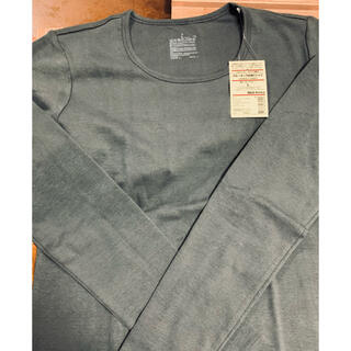 ムジルシリョウヒン(MUJI (無印良品))の無印良品 クルーネック長袖Tシャツ(Tシャツ(長袖/七分))