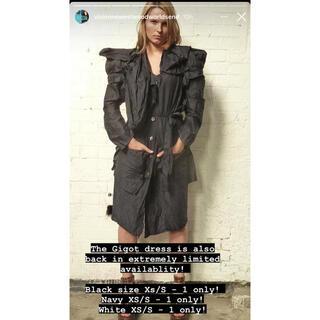 ヴィヴィアンウエストウッド(Vivienne Westwood)のworld's end 限定 The Gigot dress black(ひざ丈ワンピース)