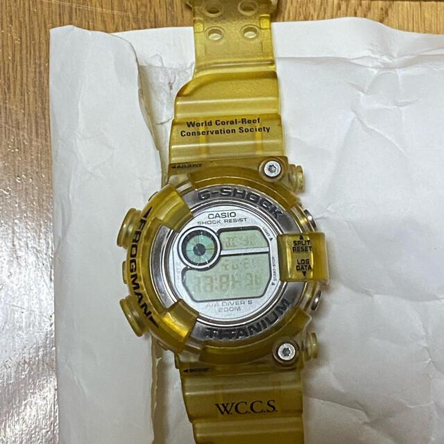 CASIO(カシオ)のフロッグマン イルクジモデル メンズの時計(腕時計(デジタル))の商品写真