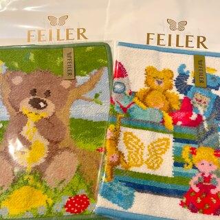 FEILER - 【新品】フェイラー FEILER タオルハンカチ プレゼント袋付