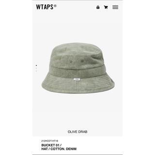 ダブルタップス(W)taps)のWTAPS BUCKET 01 / HAT / COTTON. DENIM(ハット)
