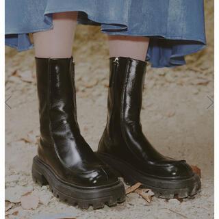 アメリヴィンテージ(Ameri VINTAGE)の新品未使用 ameri  SHARK SOLE SQUARE BOOTS (ブーツ)