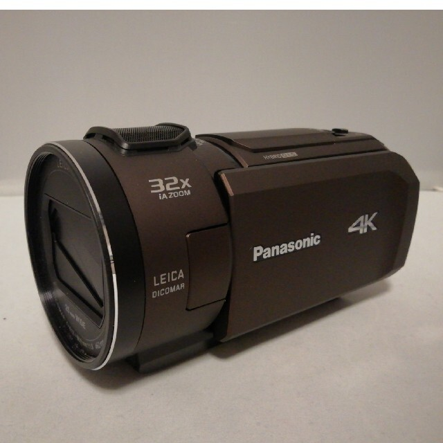 Panasonic(パナソニック)の【極美品】パナソニック 4Kデジタルビデオカメラ HC-VX1M-T スマホ/家電/カメラのカメラ(ビデオカメラ)の商品写真