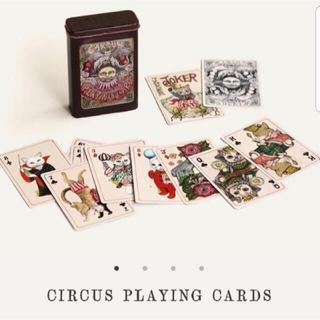 ヒグチユウコ トランプ サーカス展 CIRCUS展 プレイングカード