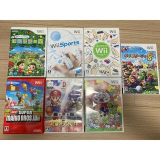 Wii - ニンテンドーWiiソフト7本セット