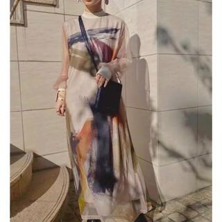 Ameri VINTAGE - Ameri VINTAGE LOUISE ART DRESS