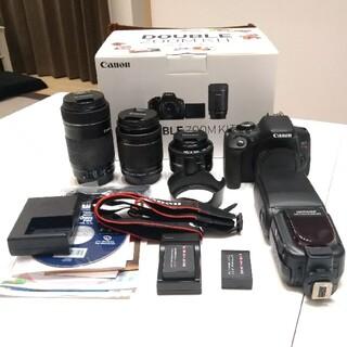 Canon - 【レンズ3本】Canon EOS Kiss X8iその他