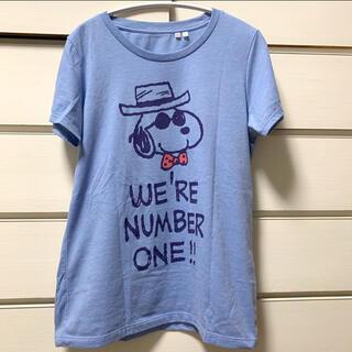 スヌーピー(SNOOPY)の【used】UNIQLO / スヌーピー  Tシャツ Lサイズ (Tシャツ(半袖/袖なし))