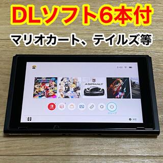 Nintendo Switch - ニンテンドー switch 本体 + ソフト6本付