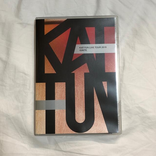 KAT-TUN(カトゥーン)のKAT-TUN LIVE TOUR 2019 IGNITE DVD エンタメ/ホビーのDVD/ブルーレイ(ミュージック)の商品写真