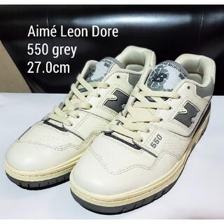 New Balance - Aimé Leon Dore P550 27.0 グレー New balance