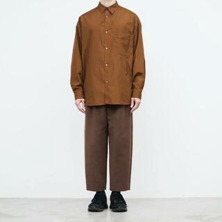 COMOLI - Graphpaper Broad Oversized Shirt comoli