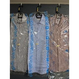 ブルックスブラザース(Brooks Brothers)のSCHIATTI/スキャッティ メンズシャツ 3点セットシャープモデル43(シャツ)