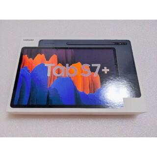 SAMSUNG - 美品 galaxy tab s7+ 6GB/128GB black Tablet