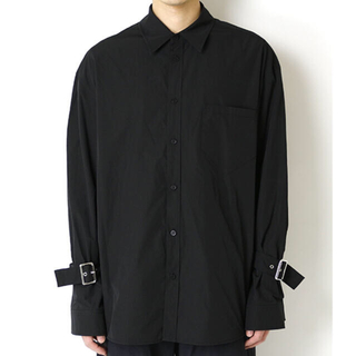 JOHN LAWRENCE SULLIVAN - we11done long sleeve shirt with buckled