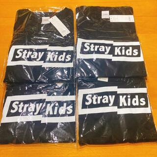 WEGO - StrayKids スキズ WEGO コラボTシャツ4枚セット ブラック