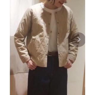SM2 - サマンサモスモス ブルー モールスキンキルティングジャケットM