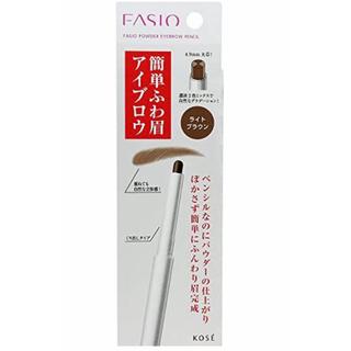 Fasio - FASIO パウダー アイブロウ ペンシル ライトブラウン BR301