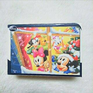 ディズニー(Disney)のジグソーパズル プチ(ホワイトクリスマス)(その他)