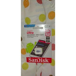MicroSD SanDisk ULTRA 128GB 100MB/s 未開封