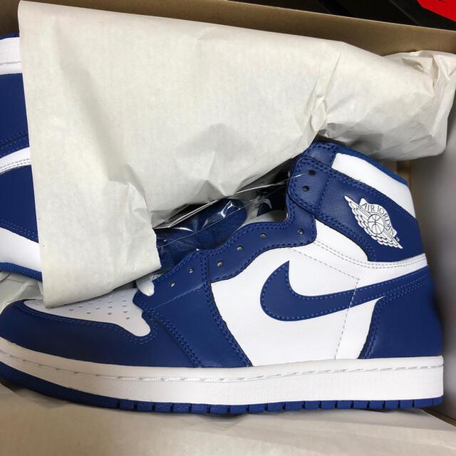 NIKE(ナイキ)のNIKE AIRJORDAN1 ストームブルー ジョーダン ナイキ メンズの靴/シューズ(スニーカー)の商品写真