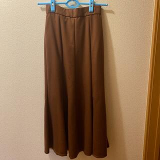 ユナイテッドアローズ(UNITED ARROWS)のエメルリファインズ ユナイテッドアローズマーメイドスカート ベージュ(ロングスカート)