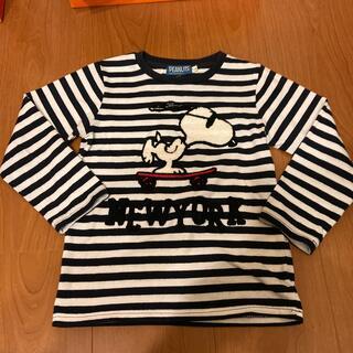 スヌーピー(SNOOPY)の長袖Tシャツ 110cm(Tシャツ/カットソー)