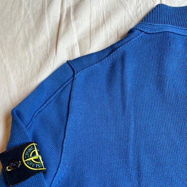 STONE ISLAND(ストーンアイランド)のStone island Zip and Buttons Cotton Knit メンズのトップス(ニット/セーター)の商品写真